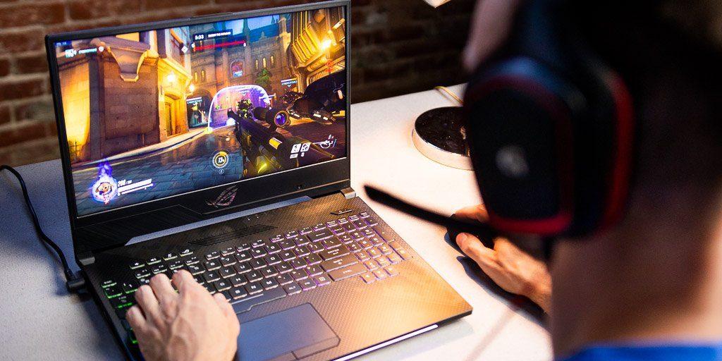 Nešiojamas žaidimų kompiuteris 2019