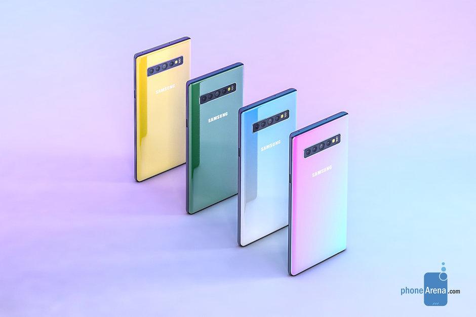 Samsung Galaxy Note 10 išmanusis telefonas